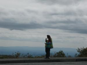 Barb Beuttel - early Oct 2011 - Blue Ridge Parkway